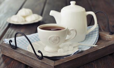 High tea voor 26 personen, naar keuze met glas prosecco bij 't Hoeksche Huisje