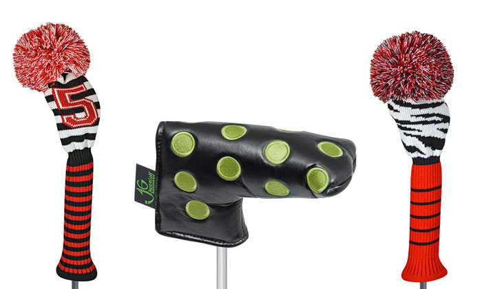 Just4Golf Novelty Headcovers or Towel