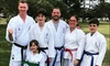 Four Weeks of Karate Classes