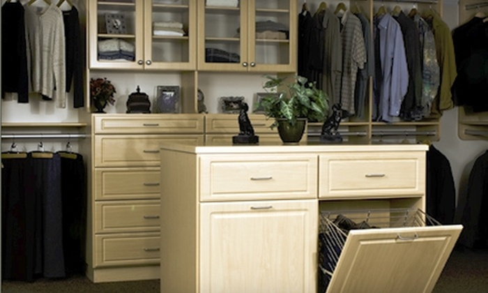 $199 For $500 Toward Custom Closet Services