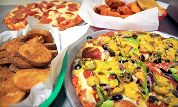 Boulevard Pizza - North Valley: $10 for $20 Worth of Pizza, Wings, and Heroes at Boulevard Pizza in Sparks