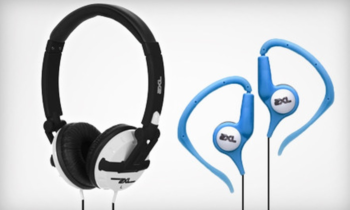 2XL by Skullcandy: $20 for Pair of 2XL Groove Earbuds and 2XL Shakedown Headphones with Free Shipping from Skullcandy ($48.98 Value)