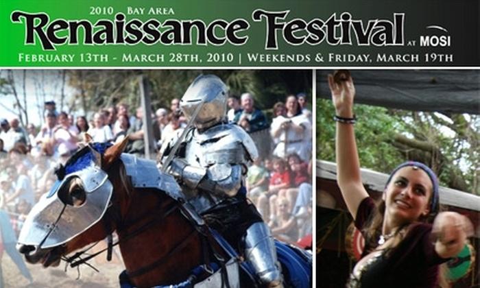 Mid America Festivals - Terrace Park: $4 Children's Ticket to the Bay Area Renaissance Festival
