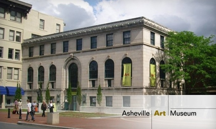 Asheville Art Museum - Downtown Ashville: $8 for Two General Admission Adult Tickets to the Asheville Art Museum (up to a $16 Value)