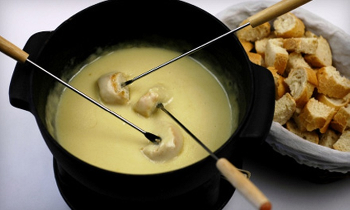 Simply Fondue - Glendale: $25 for Fondue Experience for Four ($58 Value) or $40 for $100 Worth of Fondue Dinner Fare for Up to Four People at Simply Fondue in Queens