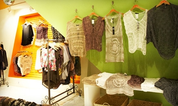 Tina's Attic - Manhattan: $20 for $40 Worth of Women's Clothing at Tina's Attic