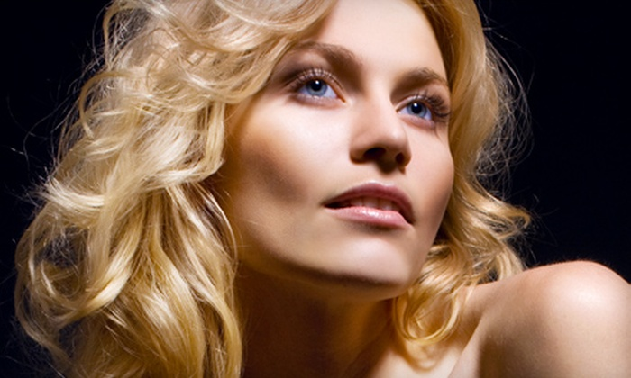 Fortunato's European Hair Design and Day Spa - Liverpool: Haircut and Style or Cut-and-Color Package at Fortunato's European Hair Design and Day Spa (Up to 60% Off)