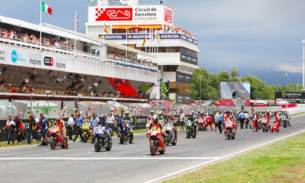 Barcelona Moto GP 2017: Ticket with up to 4-Night Hotel Stay, Half Board and Option for Transfers*
