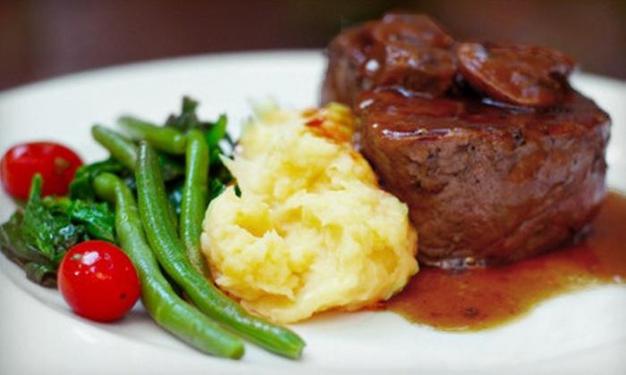 Smilie's Restaurant - Elmwood: $15 for $30 Worth of Italian, Steak, and Seafood Fare at Smilie's Restaurant in Harahan