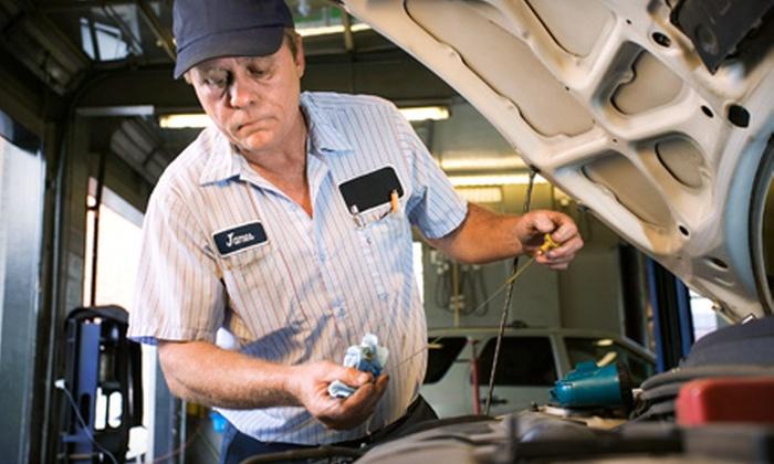 Finn Mototech - Atlas Industrial Park: Oil Change or a 150-Point Vehicle Inspection at Finn Mototech in Broomfield