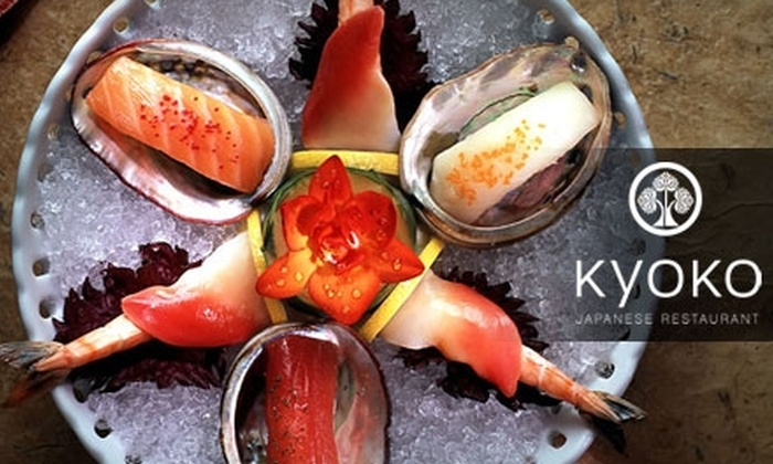 Kyokos Japanese Restaurant In Fayetteville New York Groupon
