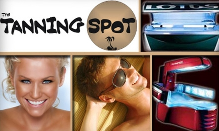 The Tanning Spot - Neartown/ Montrose: $25 for Six Tanning-Bed or Three VersaSpa Spray-Tanning Sessions at The Tanning Spot