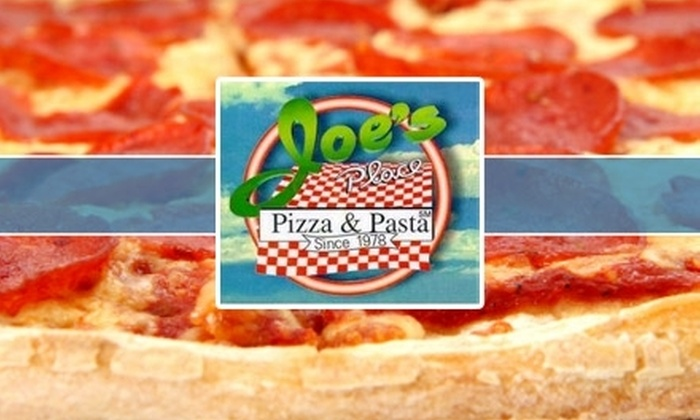 Joe's Place Pizza & Pasta - Washington DC: $10 for $20 Worth of Pizza, Pasta, and Other Saucy Fare from Joe's Place Pizza and Pasta