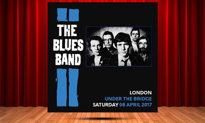 AGMP - Stamford Bridge: The Blues Band, 8 April at Stamford Bridge (Up to 27% Off)