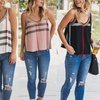 Reflection Women's Plaid Mesh-Inset Cami Top. Plus Sizes Available.