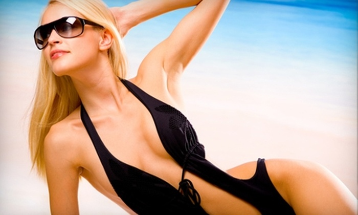 Darque Tan - Multiple Locations: Tanning Services at Darque Tan. Three Options Available.