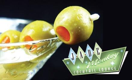 $16 Groupon to Jade Monkey Cocktail Lounge - Jade Monkey Cocktail Lounge in Madison