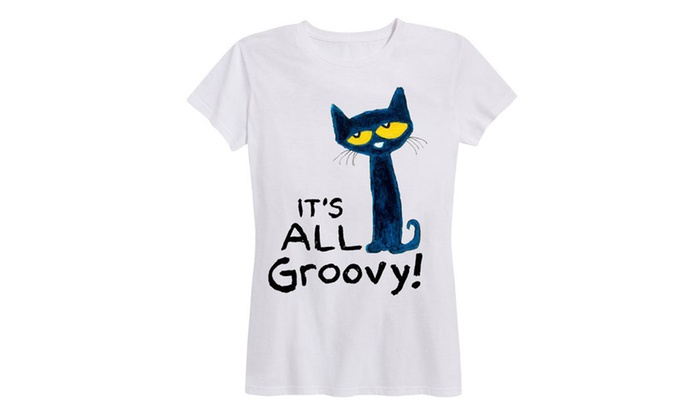 29a62b14 Up To 59% Off on Pete The Cat Tees with Plus Size   Groupon Goods