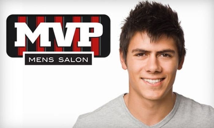 MVP Men's Salon - Central City: $15 for a Hall of Fame Haircut at MVP Men's Salon in Kelowna ($30 Value)