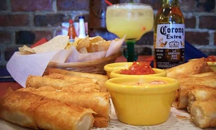 Zapata's Mexican Restaurant - Downtown: $15 for $30 Worth of Mexican Fare and Drinks at Dinner at Zapata's Mexican Restaurant (or $10 for $20 Worth at Lunch)