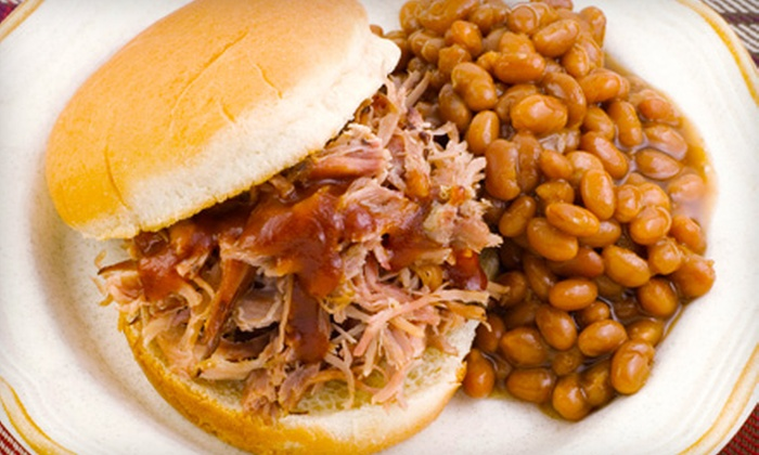 Smokehouse Restaurant - Elgin: Barbecue Buffet for Two or Catering at Smokehouse Restaurant in Elgin