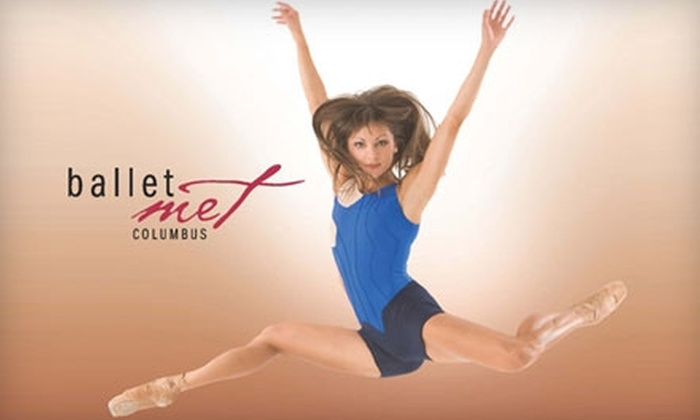 BalletMet - Columbus: $48 for One Three-Production Ticket Package to BalletMet at the Capitol Theatre ($93 Value). Three Packages Available.