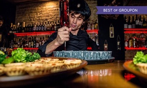 Baltic Cellar: Two-Course Meal With Wine For Two or Four from £19.95 at Baltic Cellar (Up to 53% Off)