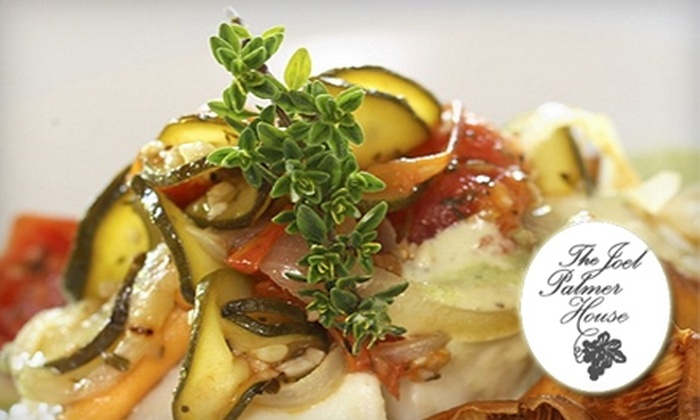 The Joel Palmer House - Salem OR: $40 for $80 Worth of Fine Dining and Wine at The Joel Palmer House in Dayton