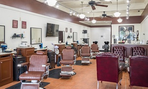 Prestigious Image Barbershop: Barbershop Services at Prestigious Image Barbershop (Up to 50% Off). Three Options Available.