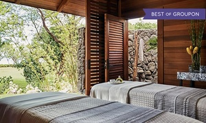 Up to 35% Off Massage and Facial Packages and All-Day Amenities at Naupaka Spa & Wellness Center at Four Seasons Resort Oahu at Ko Olina, plus 9.0% Cash Back from Ebates.