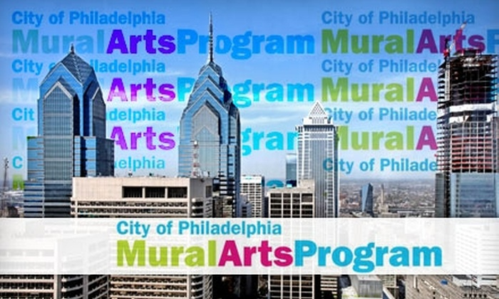 City of Philadelphia <br>Mural Arts Program - Fairmount/Art Museum: $15 for an Ale & Arts Walking Tour from City of Philadelphia Mural Arts Program ($30 Value)
