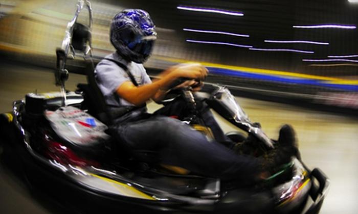 Fast Kart Indoor Speedway - East Central: Race Sessions and Pizza at Fast Kart Indoor Speedway