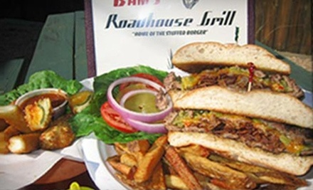 $10 Groupon to Bam's Roadhouse Grill - Bam's Roadhouse Grill in Lago Vista