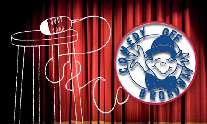 Comedy Off Broadway - Lexington Green: $10 for Two Tickets to a Wednesday or Thursday Show (Up to $28 Value) or $20 for Two Tickets to a Friday or Saturday Show (Up to $44 Value) at Comedy Off Broadway