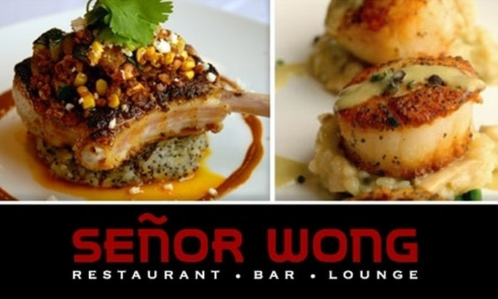 Señor Wong - Core: $15 for $35 Worth of Asian-Latin Cuisine, Sake and Drinks at Señor Wong