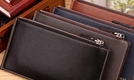 1 ou 2 portes cartes simili cuir extra slim pour homme, coloris au choix,dès 11,90 €