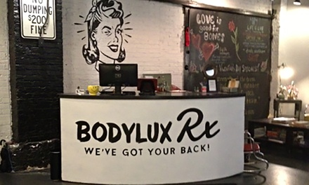$38 for One Cupping Session with Massage at The BodyLux Rx ($105 Value)