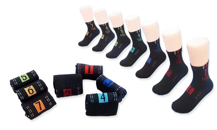Verrassend Sokken met dagen van de week | Groupon Goods RD-97