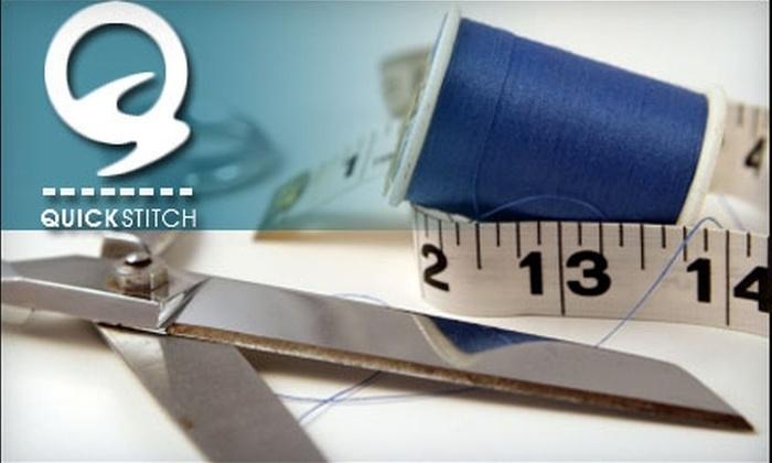 Quick Stitch - Wichita: $15 for $30 Worth of Premium Alterations at Quick Stitch