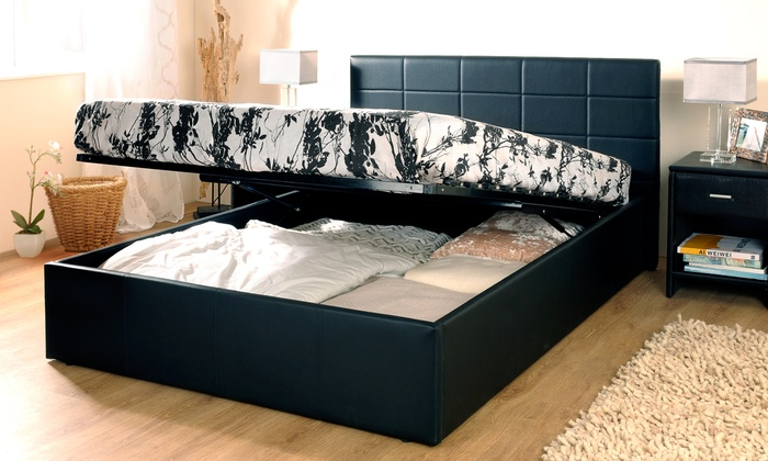 Chantilly Ottoman Bed Frame with Optional Mattress