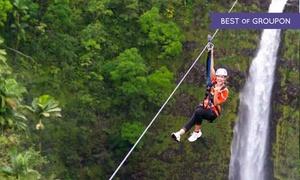 Skyline Eco Adventures: Skyline Big Island Tour for One, Two, or Four from Skyline Eco Adventures - Big Island (Up to 29% Off)