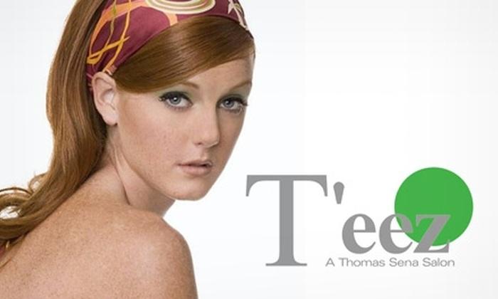 T'eez - A Thomas Sena Salon - Omaha: $40 for $80 Worth of Services at T'eez: A Thomas Sena Salon