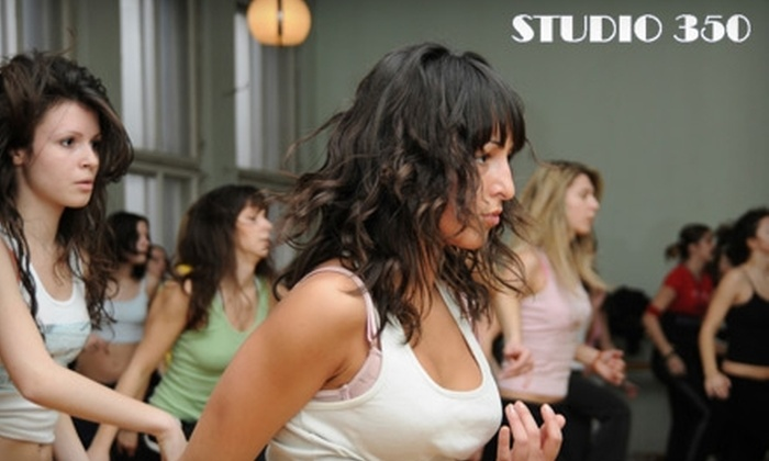 Studio 350 - Downtown Fort Lauderdale: $30 for Five Zumba Classes at Studio 350
