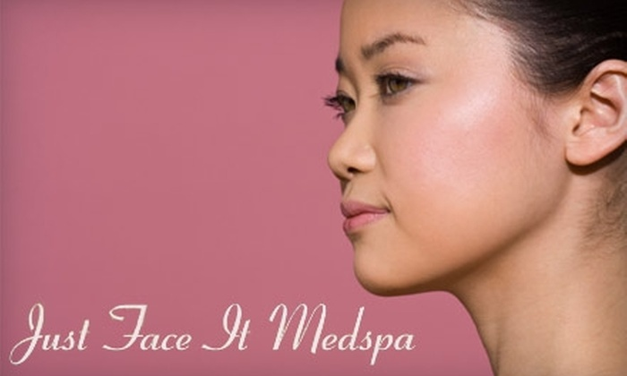 Just Face It Medspa - West Sahara: Chemical Peels and Aesthetic Treatments at Just Face It Medspa. Choose from Three Options.