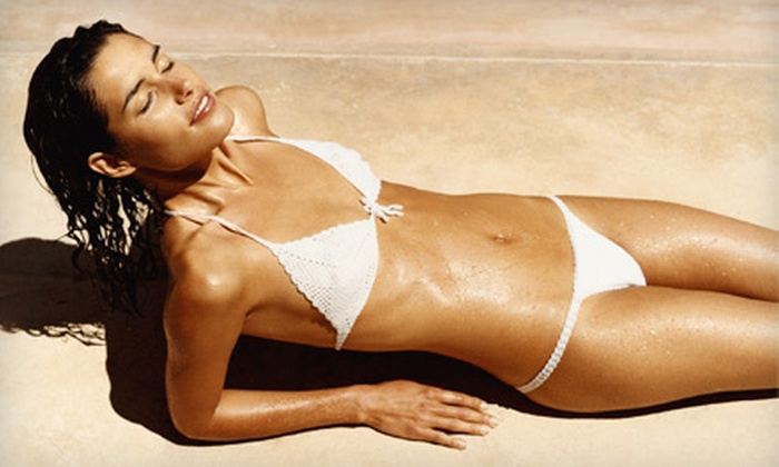 Coco Tan - Las Colinas: One Spray Tan With Anti-Aging Treatment or Two Spray Tans at Coco Tan in Irving