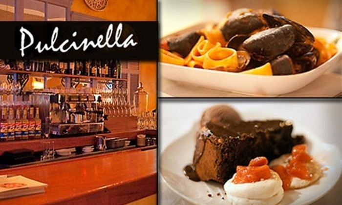 Pulcinella - North Beach: $20 for $50 Worth of Italian Feasting at Pulcinella