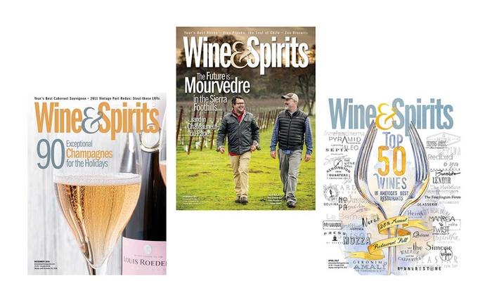 Wine Spirits Magazine Wine Spirits Magazine Groupon