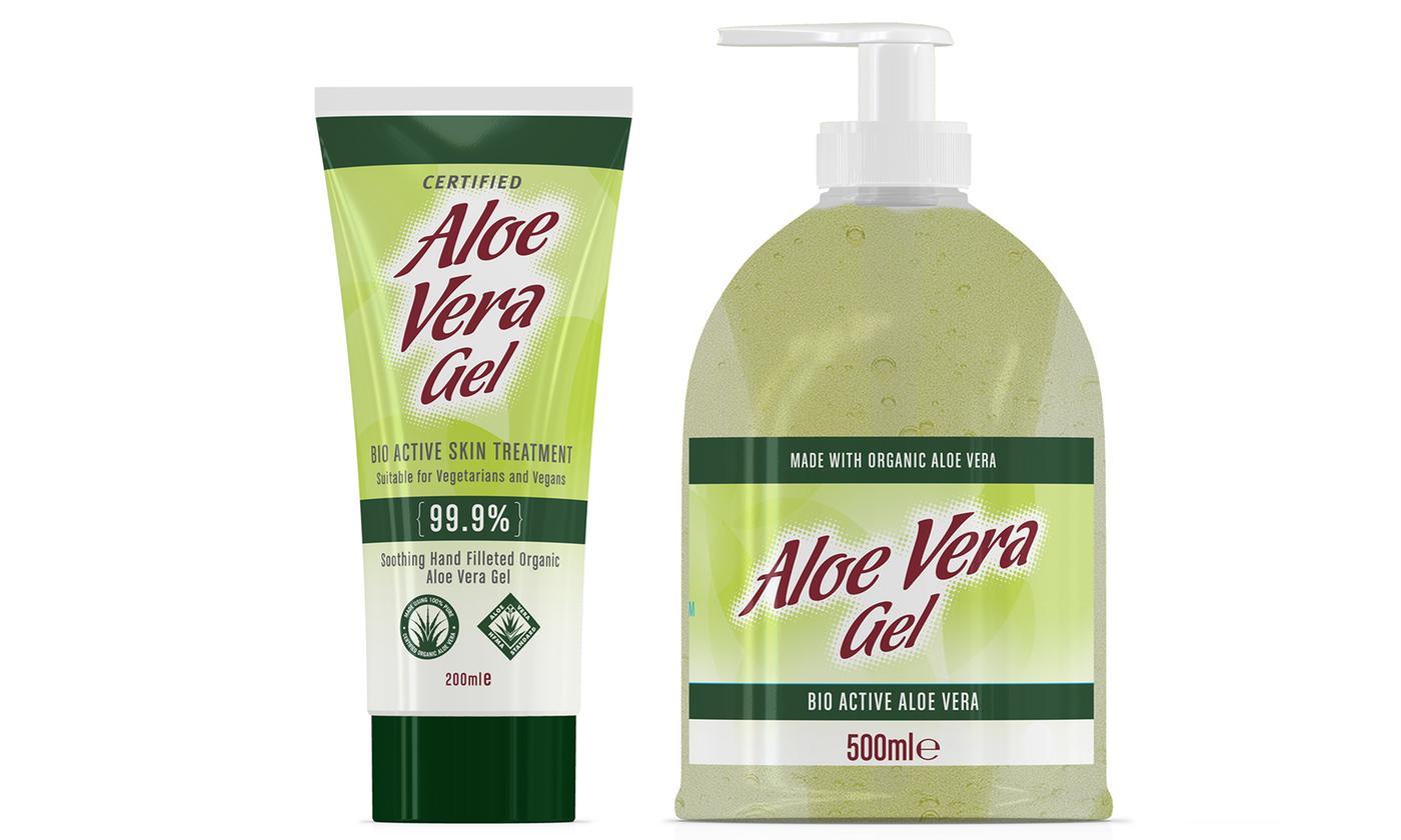 One, Two or Three Aloe Pura Aloe Vera Gels