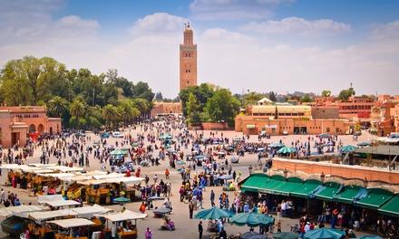 ✈Marruecos: 7 noches para 1 con desayuno en Marrakech y Fez, media pensión en desierto, visitas, traslados y vuelo I/V