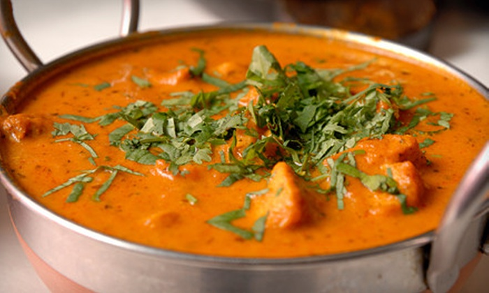 Flavors Indian Cuisine - Richwood Home Owners Association: Weekday or Weekend Indian Lunch Buffet for Two at Flavors Indian Cuisine (Up to 55% Off)